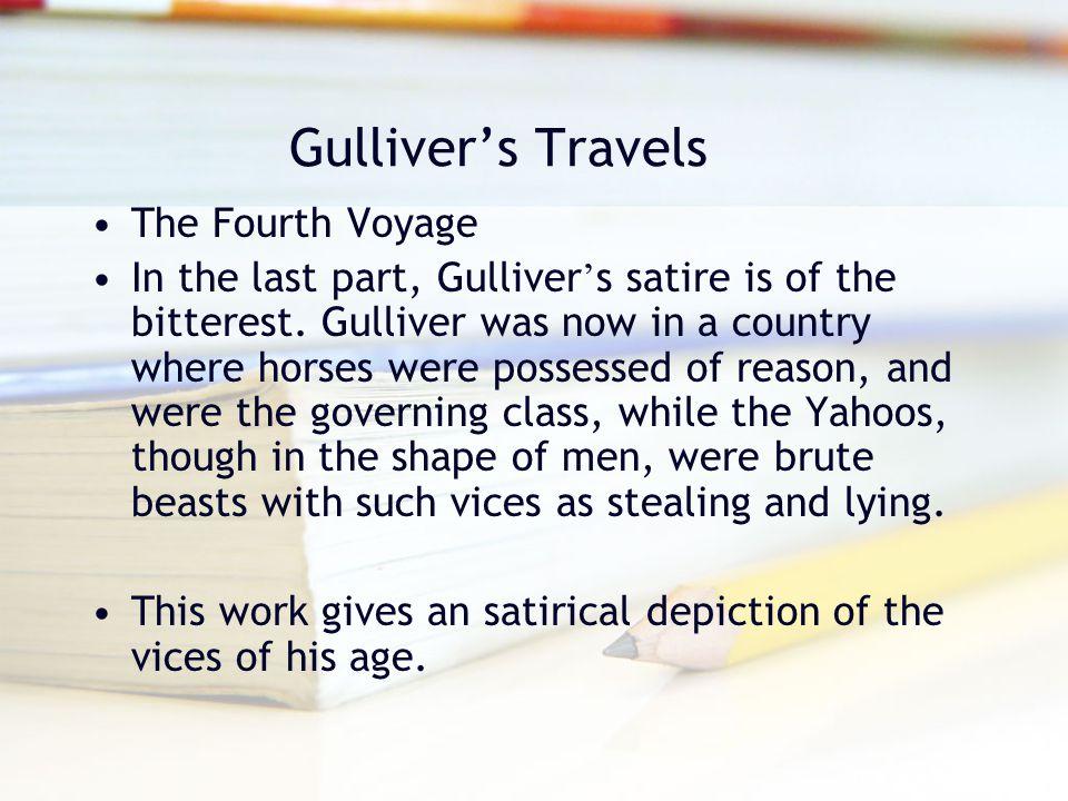 Gulliver's Travels The Fourth Voyage