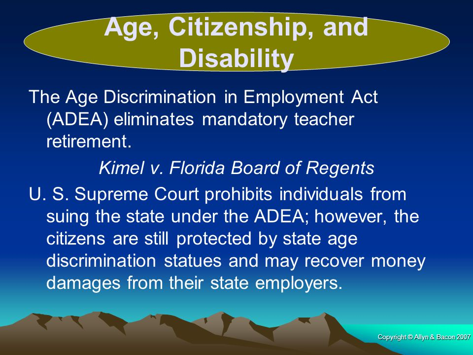 Age, Citizenship, and Disability