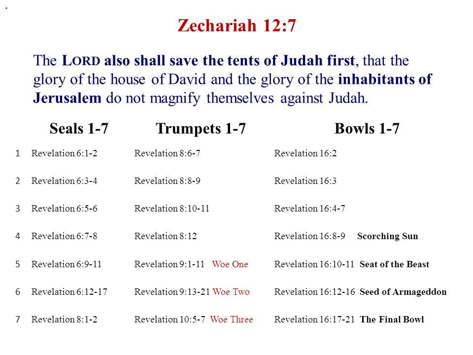 . Zechariah 12:7.