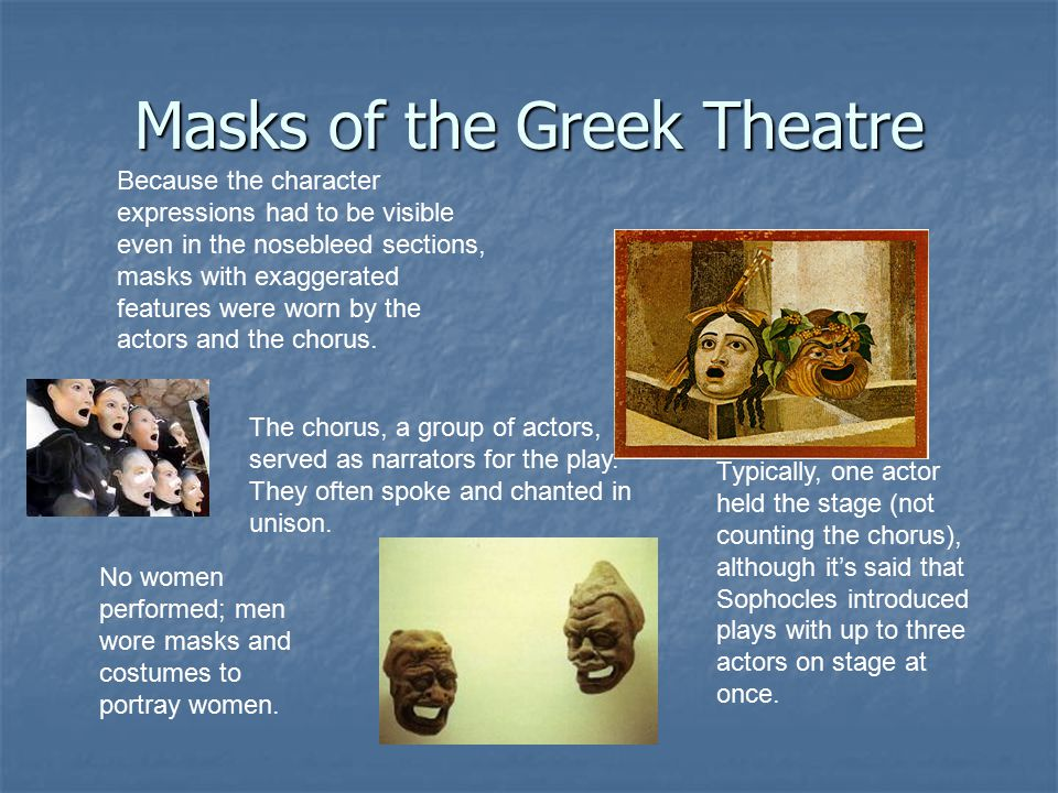 Masks of the Greek Theatre