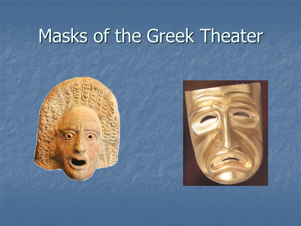 Masks of the Greek Theater