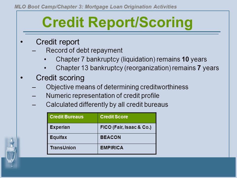 Credit Report/Scoring