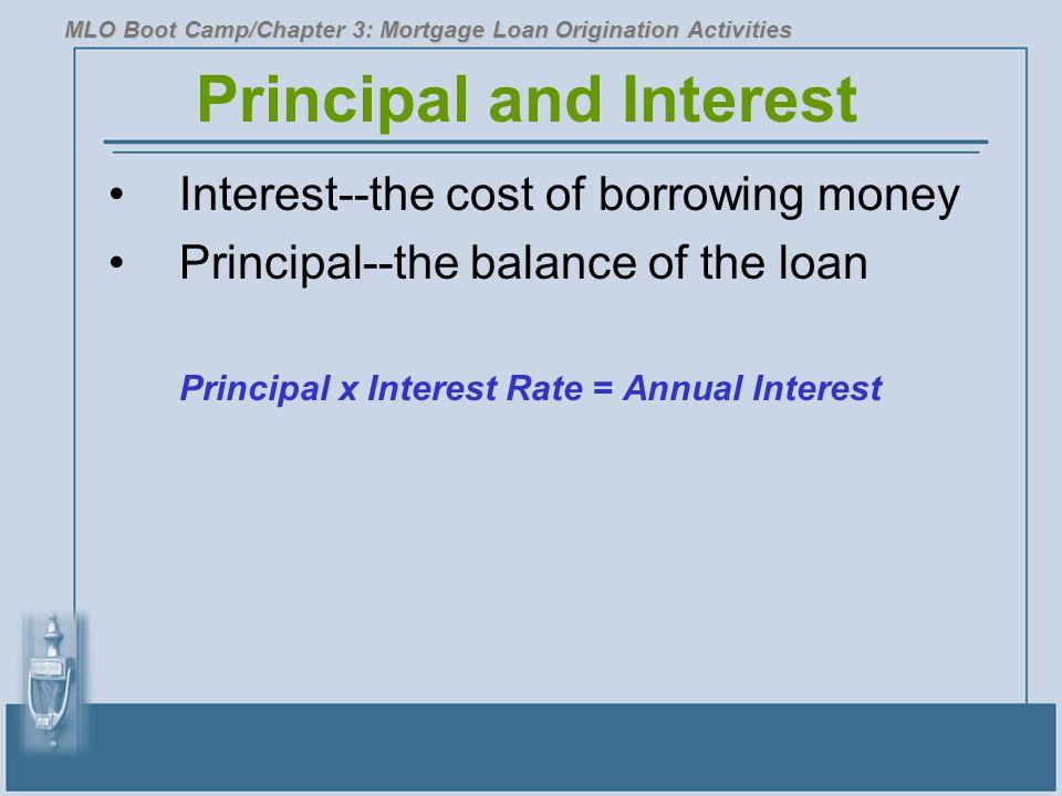 Principal and Interest