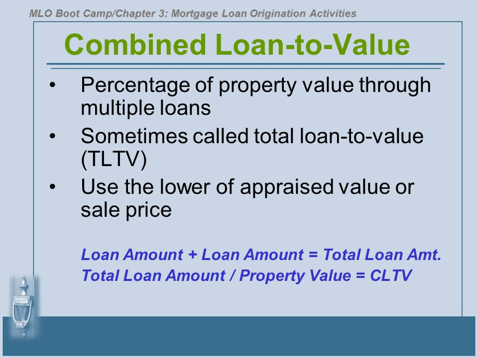 Combined Loan-to-Value