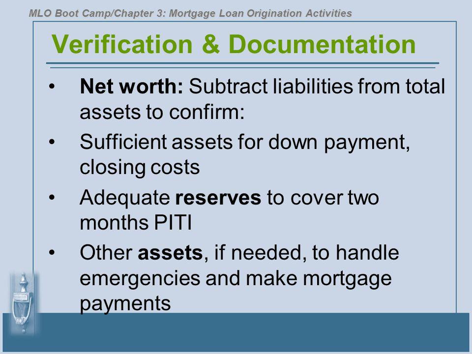 Verification & Documentation