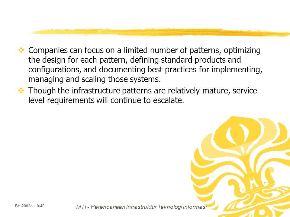 MTI - Perencanaan Infrastruktur Teknologi Informasi