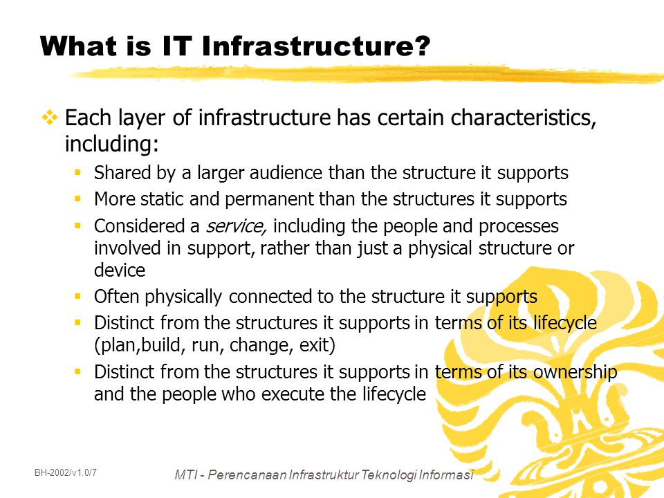 What is IT Infrastructure