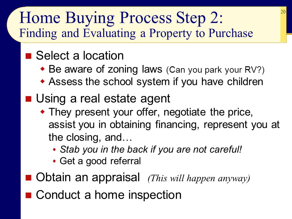 CHAPTER 7 Home Sweet Selecting And Financing Housing Or