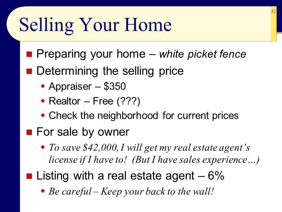 Selling Your Home Preparing your home – white picket fence