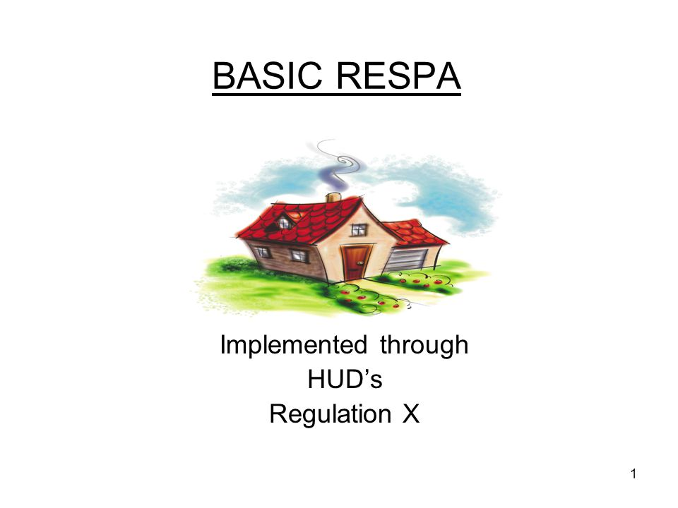 State Examiner Training Implemented through HUD's Regulation X