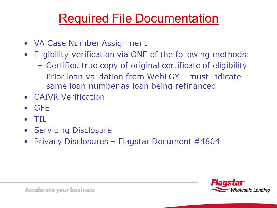 Required File Documentation