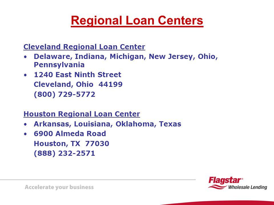 Regional Loan Centers Cleveland Regional Loan Center