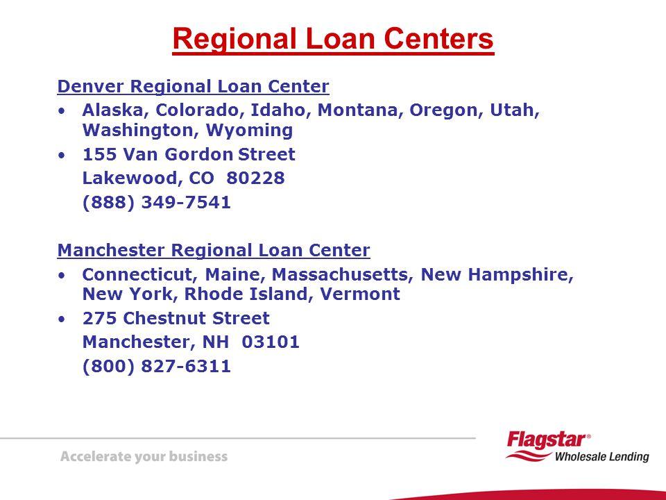 Regional Loan Centers Denver Regional Loan Center