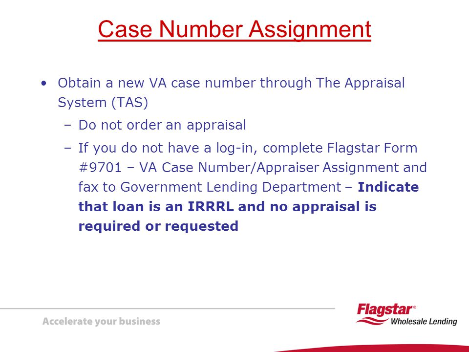 Case Number Assignment