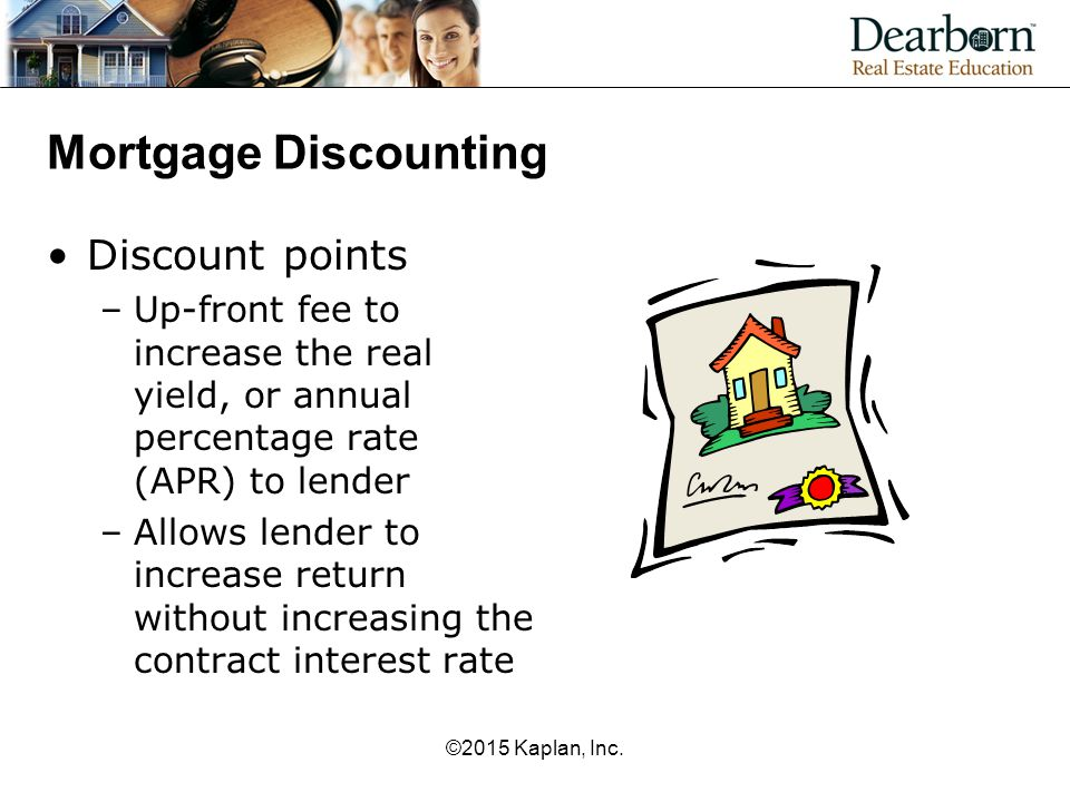 Mortgage Discounting Discount points