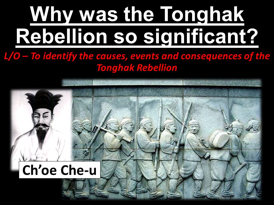 Why was the Tonghak Rebellion so significant