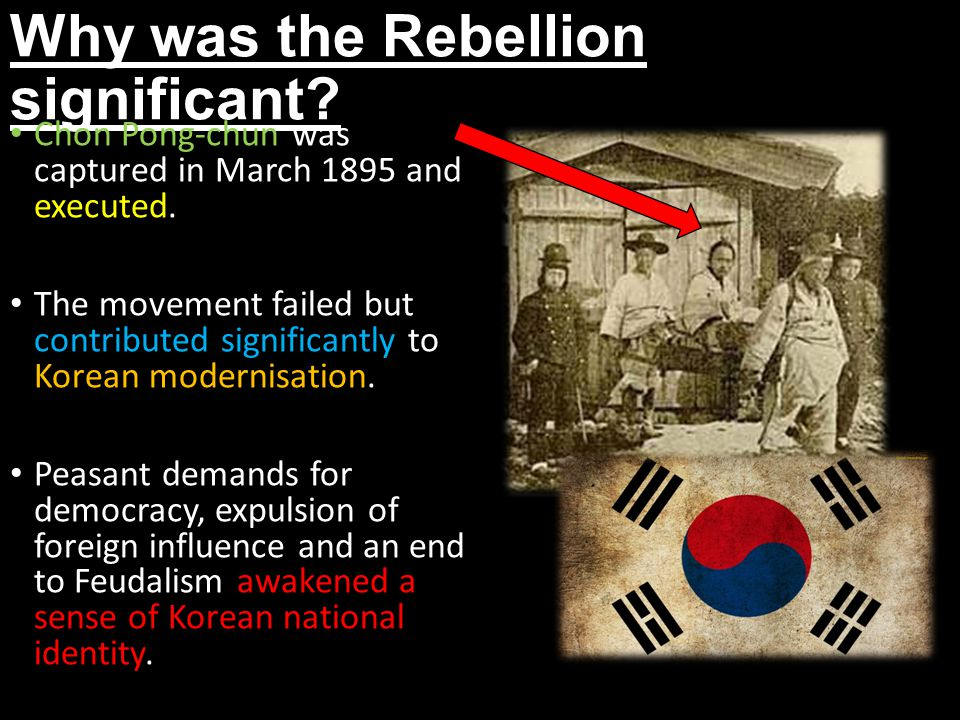 Why was the Rebellion significant
