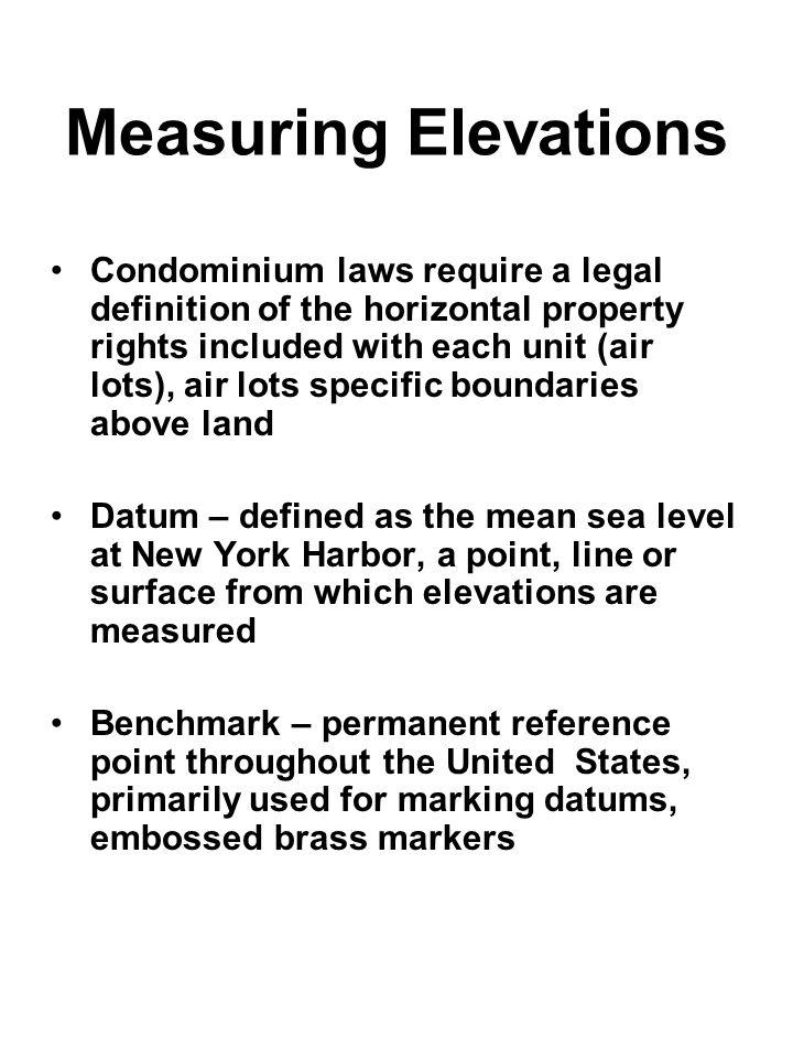 Measuring Elevations