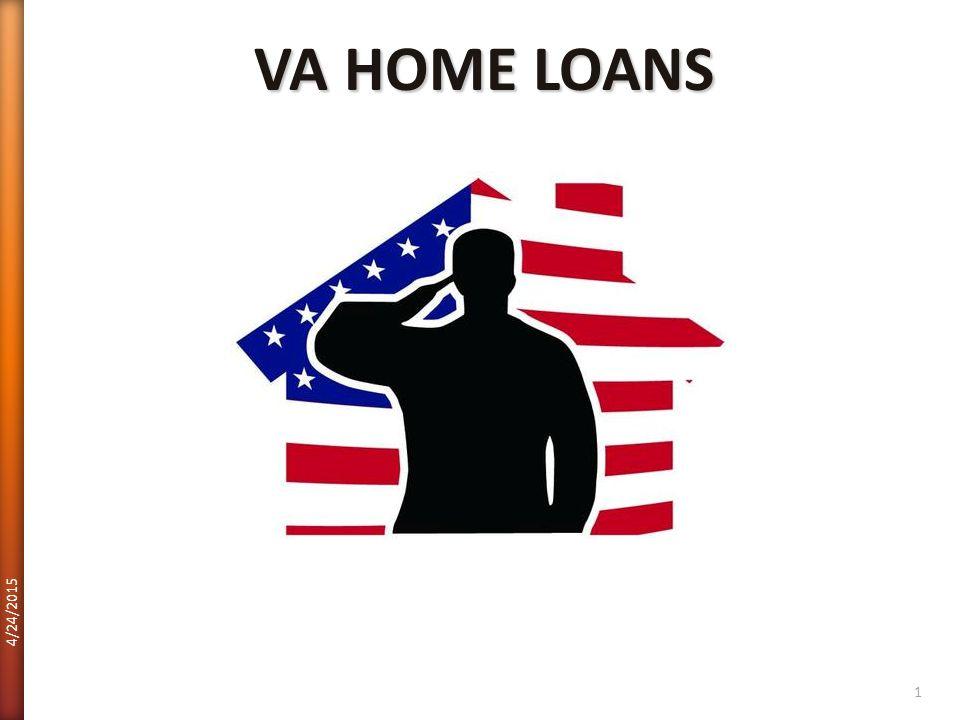 VA HOME LOANS 4/12/2017