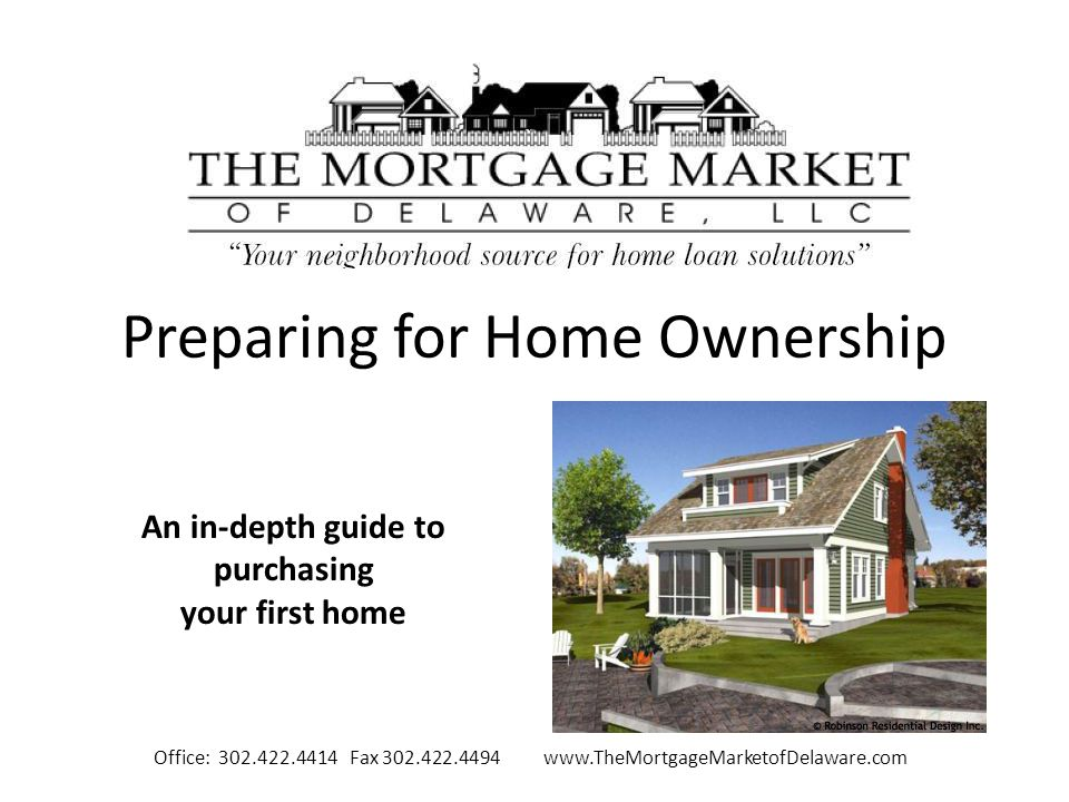 Preparing for Home Ownership