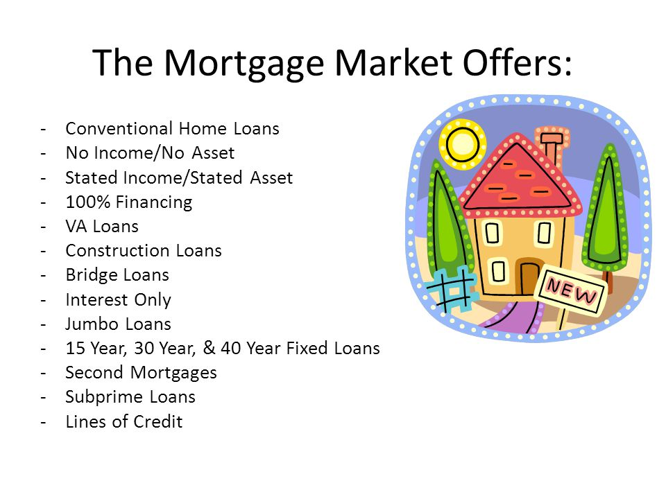 The Mortgage Market Offers:
