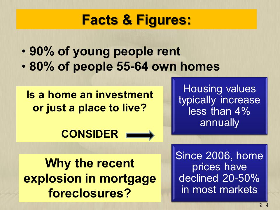 Why the recent explosion in mortgage foreclosures