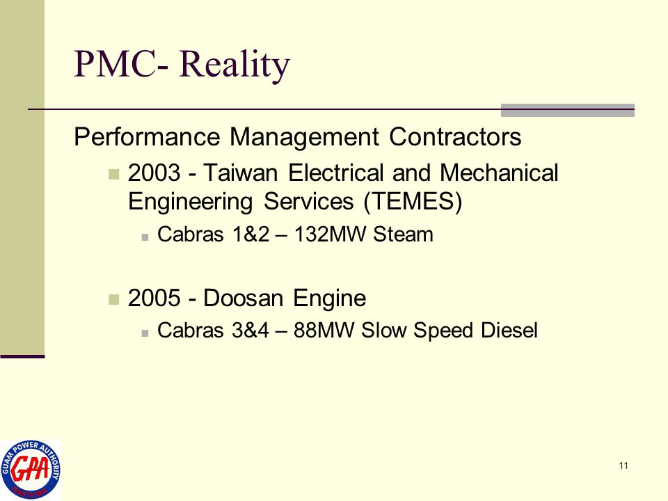 PMC- Reality Performance Management Contractors