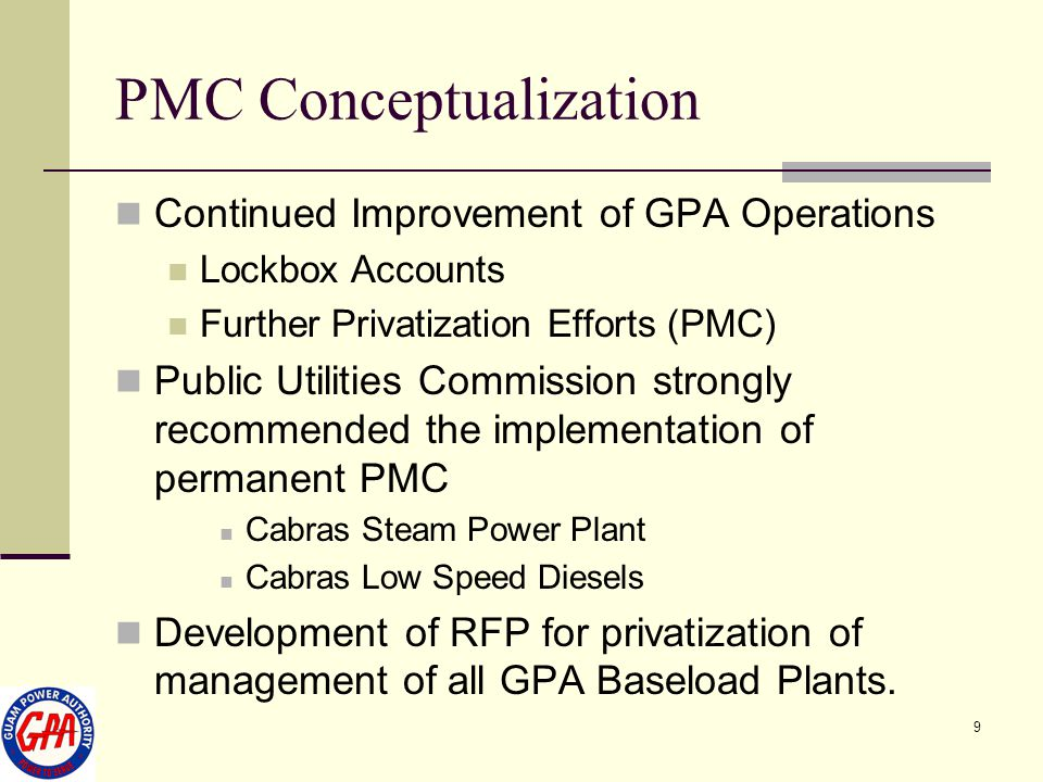 PMC Conceptualization
