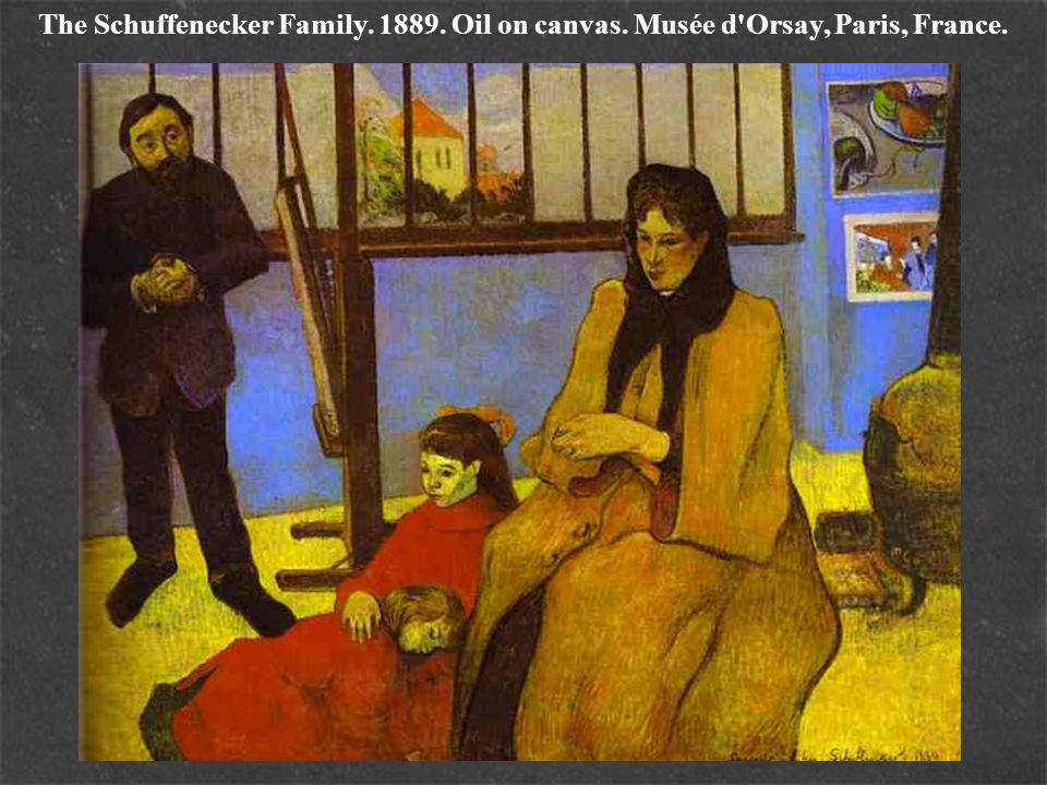 The Schuffenecker Family. 1889. Oil on canvas