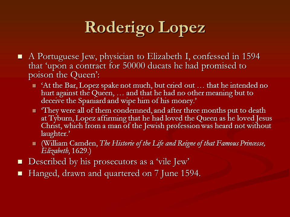 Roderigo Lopez