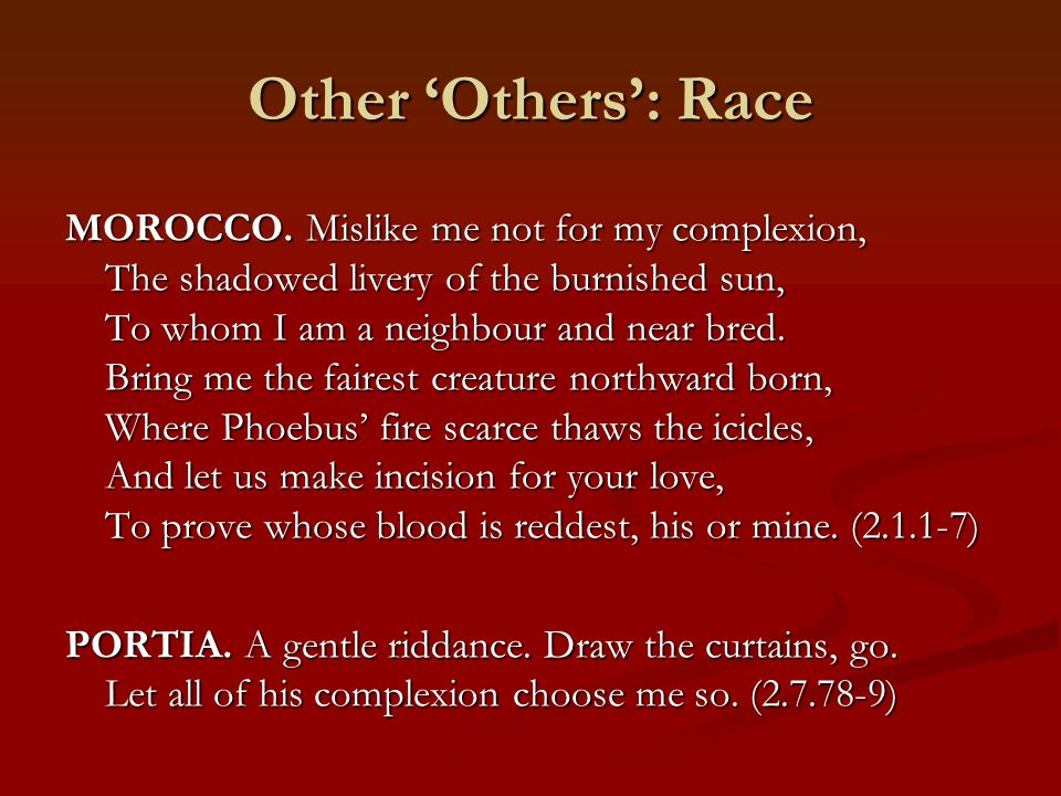 Other 'Others': Race