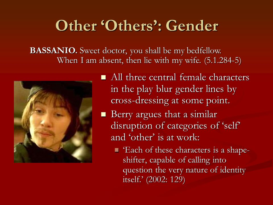 Other 'Others': Gender