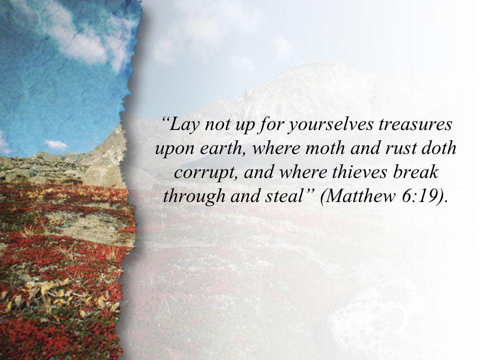 Matthew 6:19