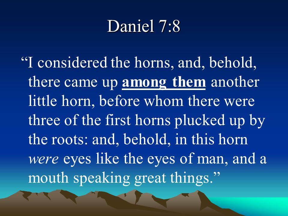 Daniel 7:8