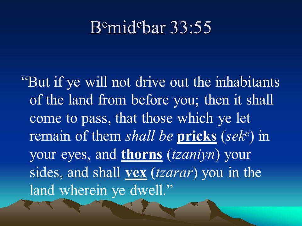 Bemidebar 33:55