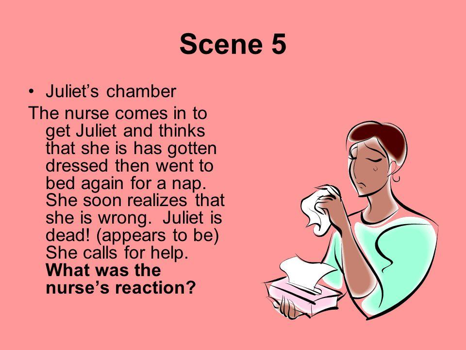 Scene 5 Juliet's chamber