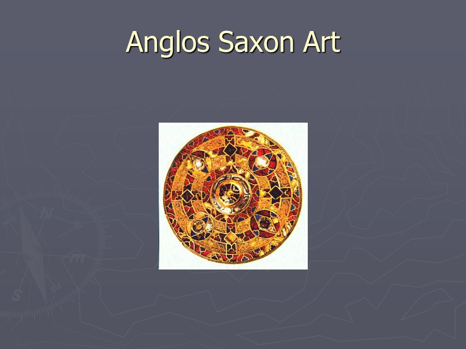 Anglos Saxon Art