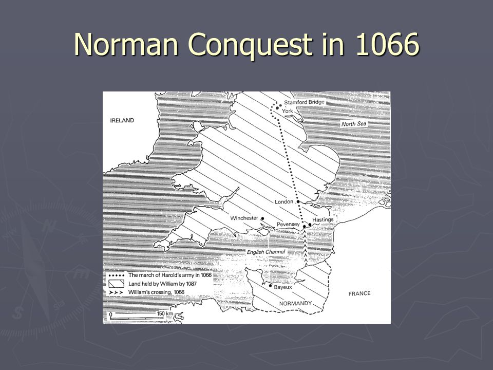 Norman Conquest in 1066