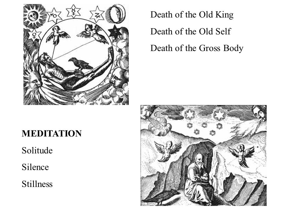 Death of the Old King Death of the Old Self Death of the Gross Body