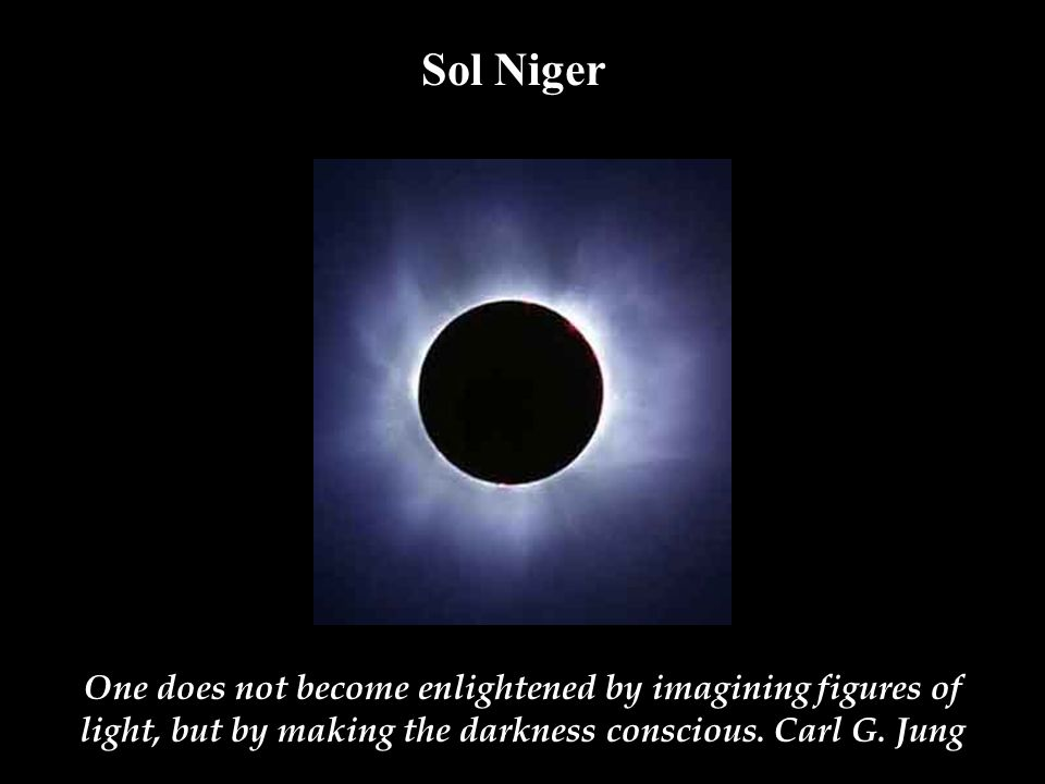 Sol Niger Wendell Berry Poem. David White.