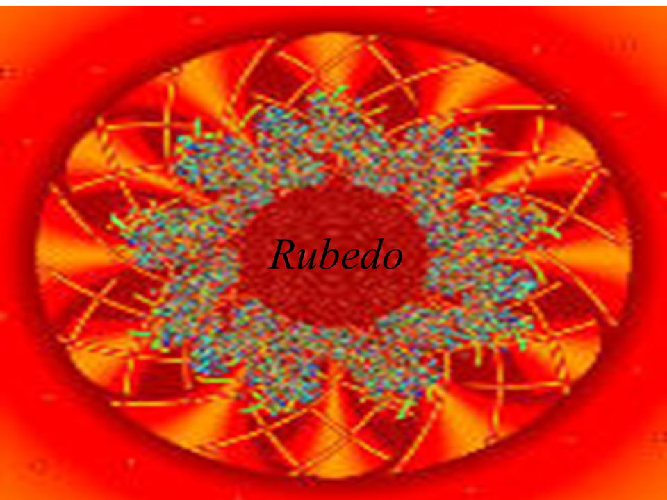 Rubedo Soul is in the Blood Descent of the Spirit, Ascent of the Soul