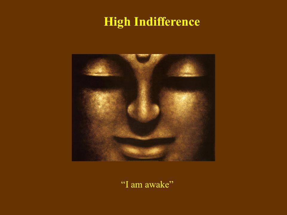 High Indifference I am awake