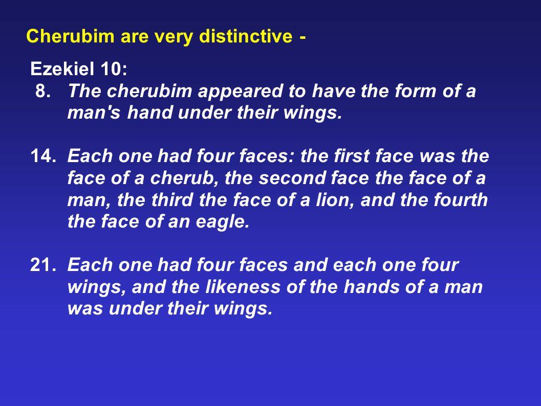 Cherubim are very distinctive -
