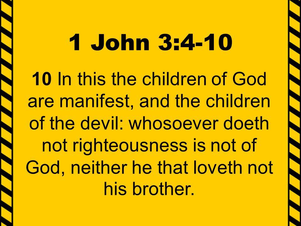 1 John 3:4-10