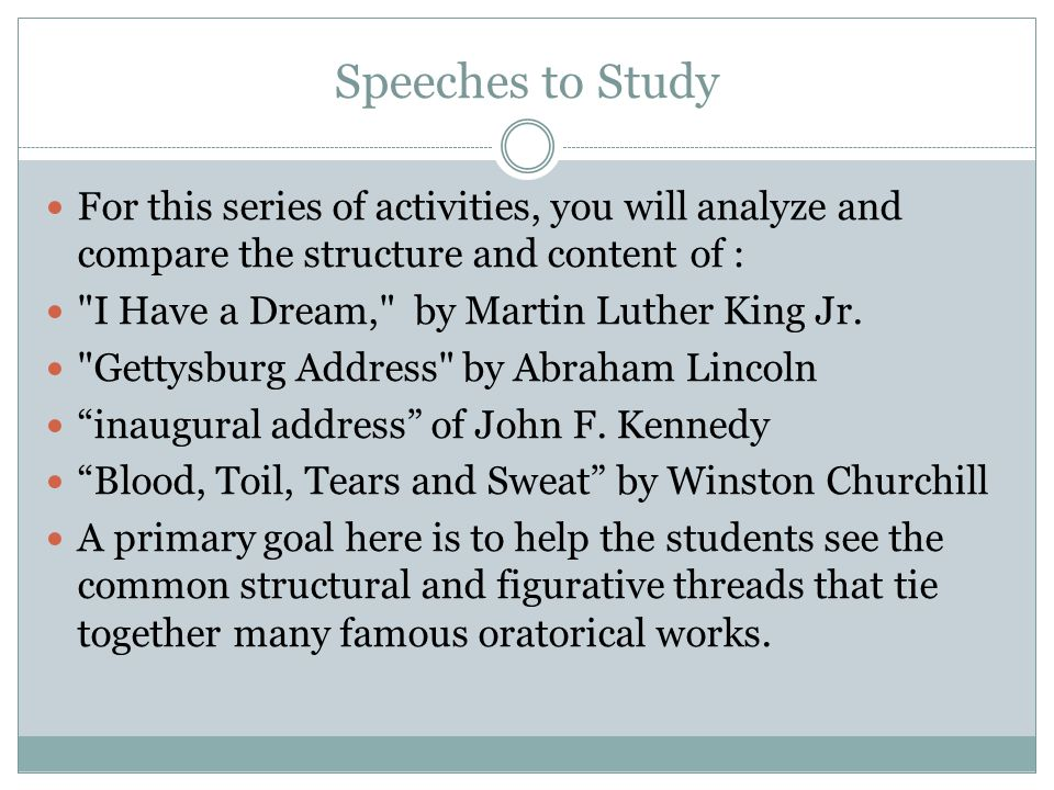 "rhetorical analysis of abraham lincolns inagural I would like to use this 2011 analysis ""speech analysis: gettysburg address – abraham analysis of abraham lincolns analysis: gettysburg address."