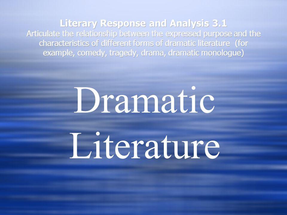 Literary Response and Analysis 3