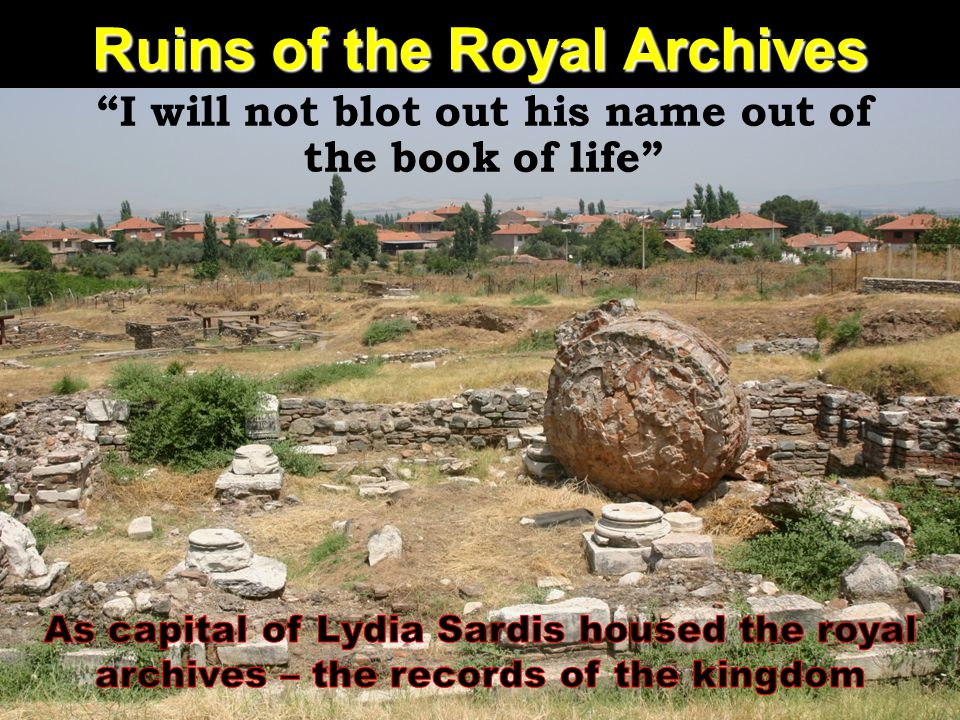 Ruins of the Royal Archives
