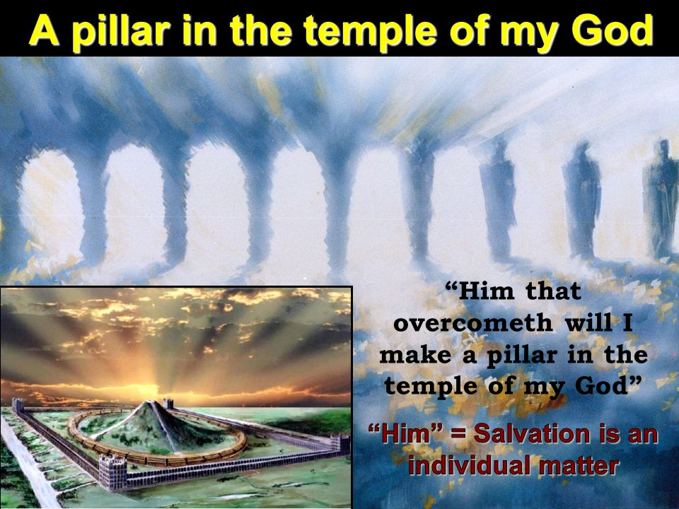 A pillar in the temple of my God