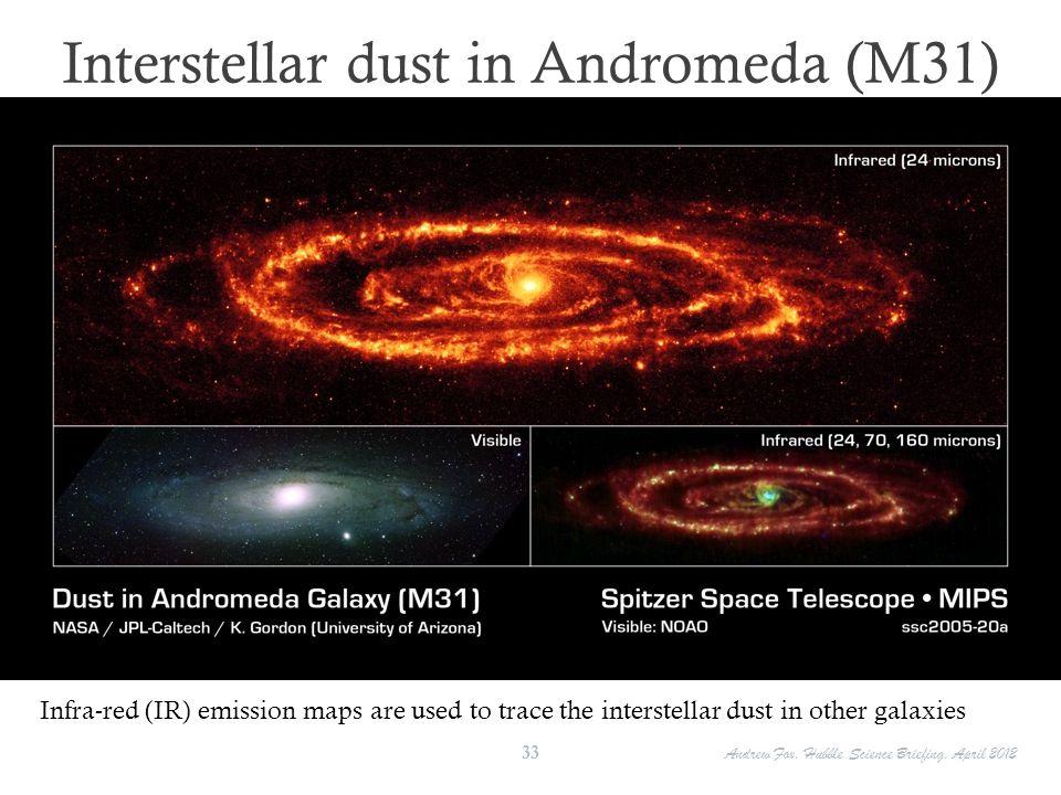 Interstellar dust in Andromeda (M31)