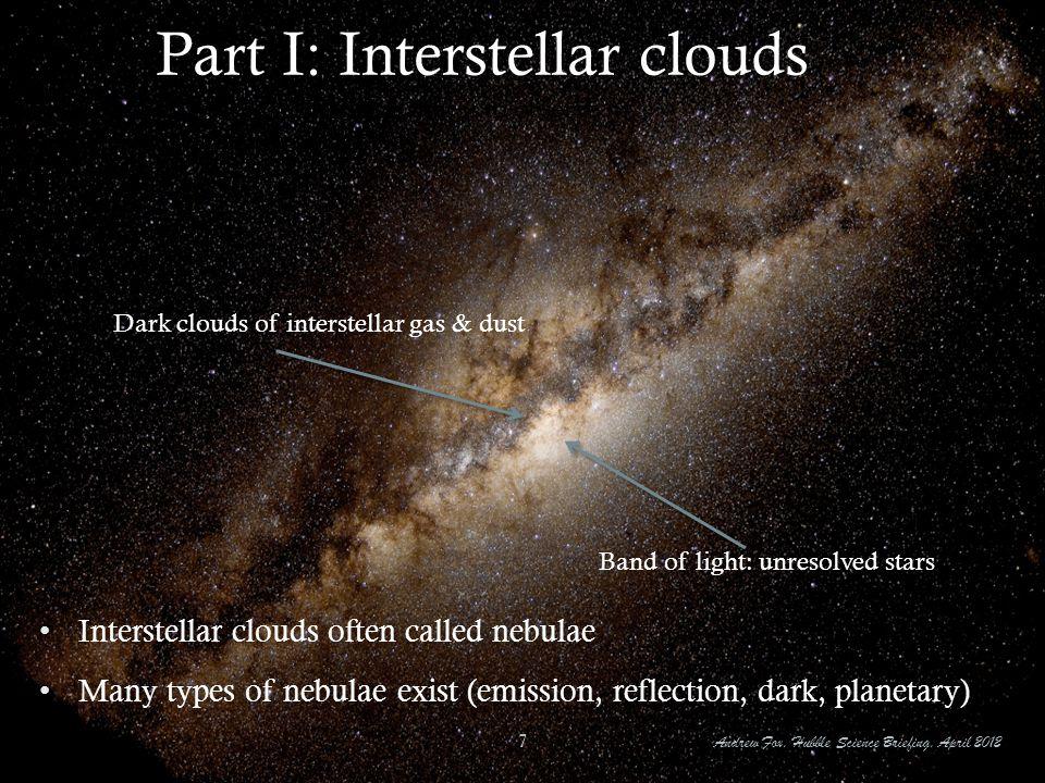 Part I: Interstellar clouds